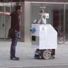 Kommunikationsroboter oder mobile Signage?