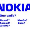 NOKIA Quo vadis? Auf welchen Zug springt Nokia bei SmartPhones auf?