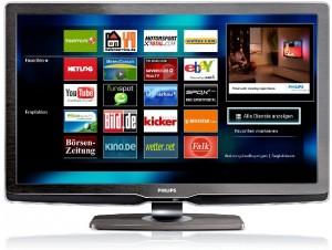 Surfen von der Couch mit Net TV ( Foto: Philips)